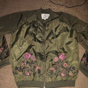 guess brand bomber jacket